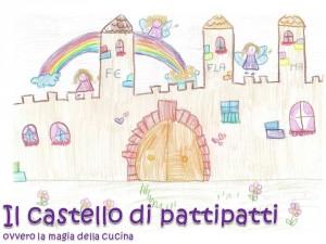 disegno bimbe castello
