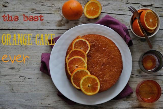orange cake testo