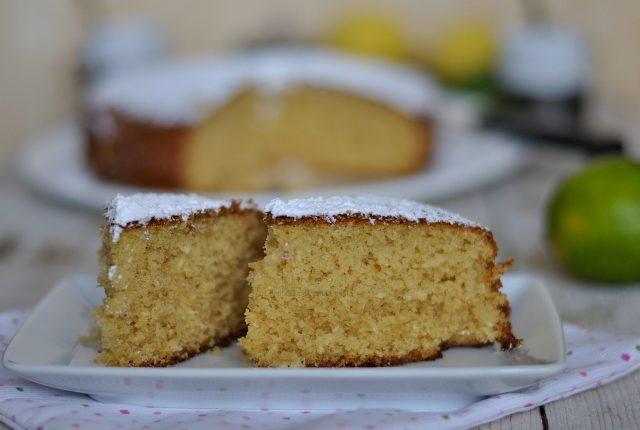 torta cocco e lime evidenza