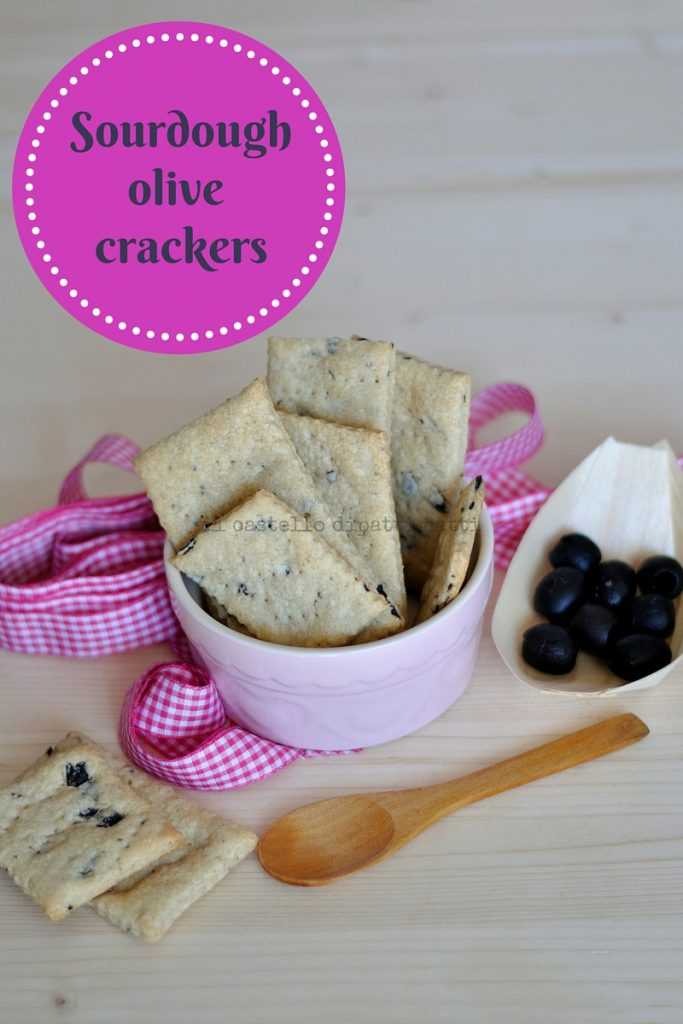 Crackers con olive 2