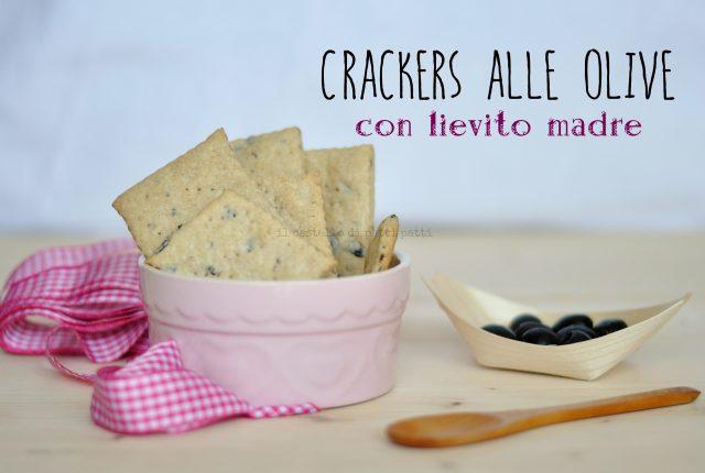 crackers olive con lievito madre
