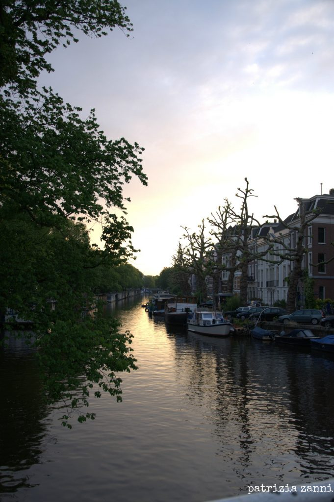 amsterdam-canale-tramonto
