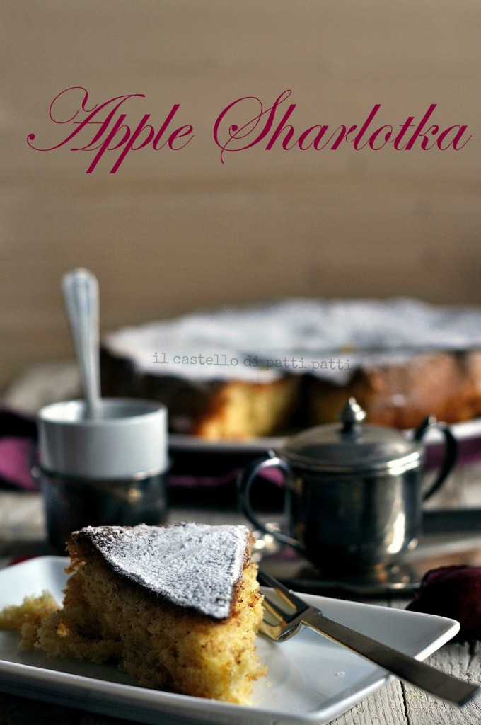 apple sharlotka