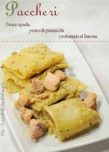 paccheri pesto pistacchiocover