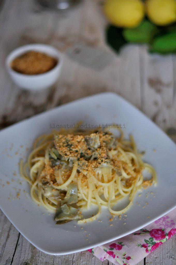 pasta carciofi 3