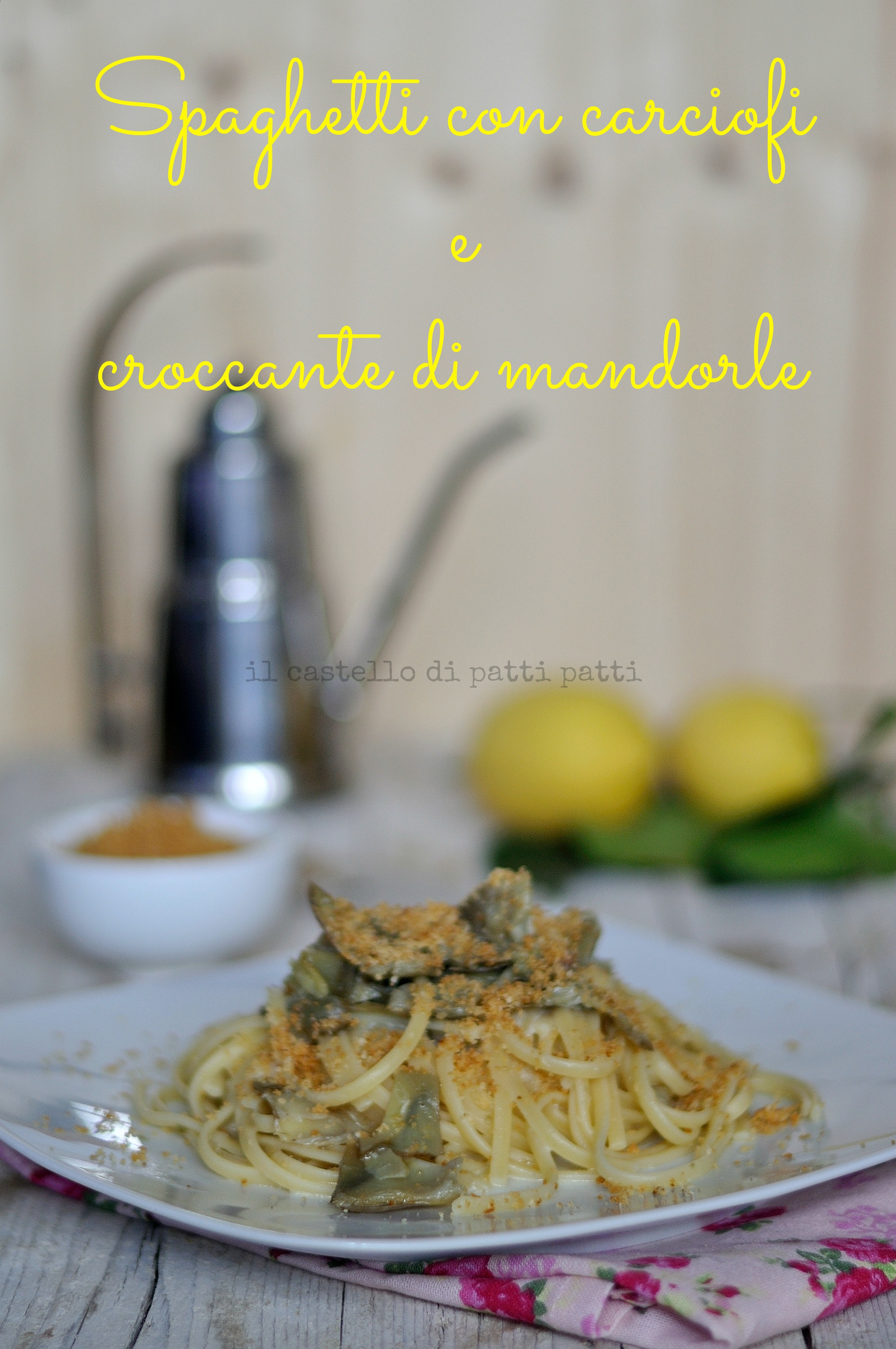 pasta carciofi 4