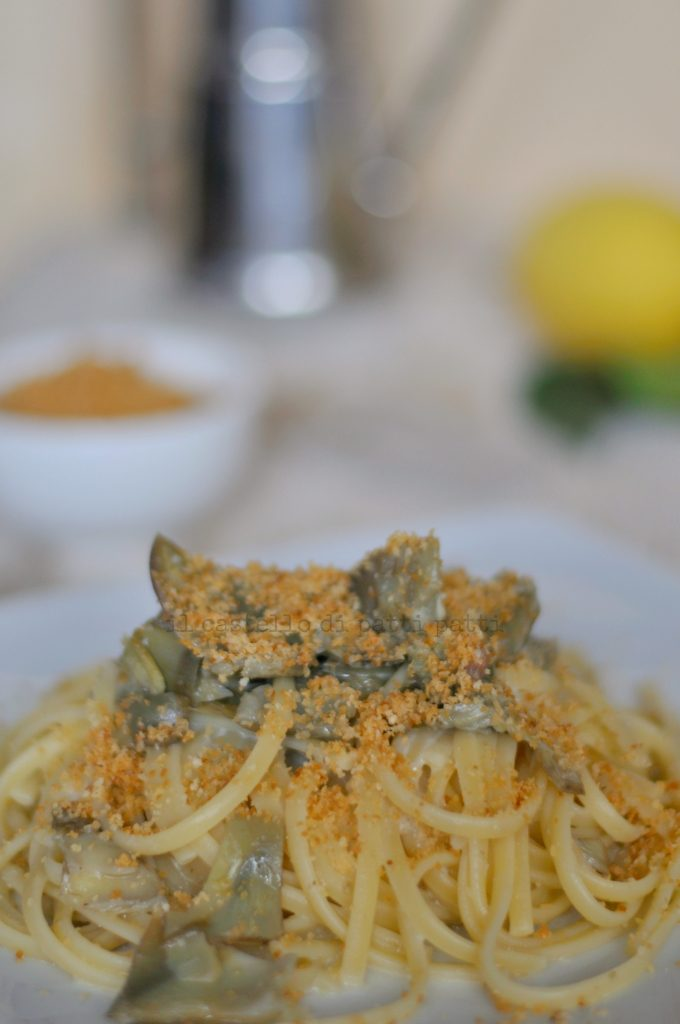 pasta carciofi 5