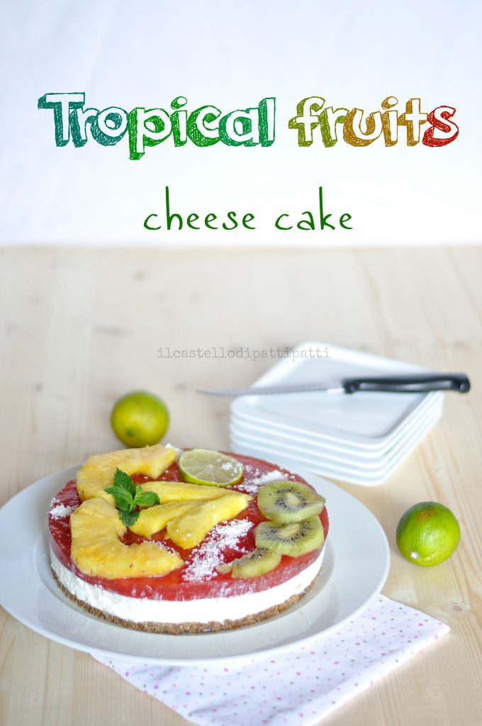 tropical cheese cake
