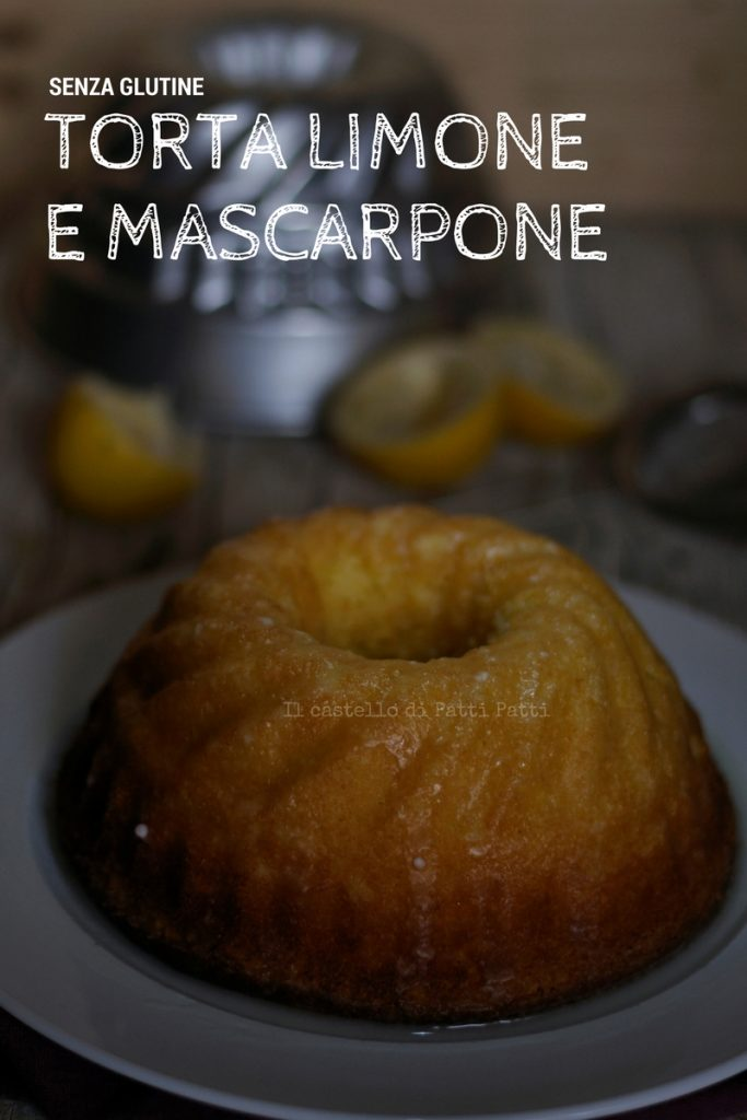 Gluten free torta mascarpone e limone