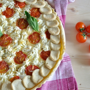 Goat cheese tarte