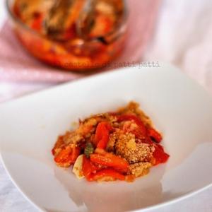 peperoni con capperi e olive