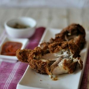 pollo fritto 300