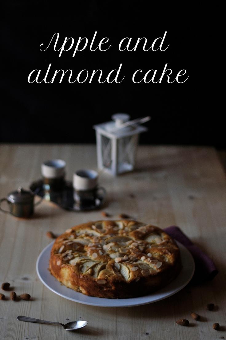 torta di mele e mandorle pinterest