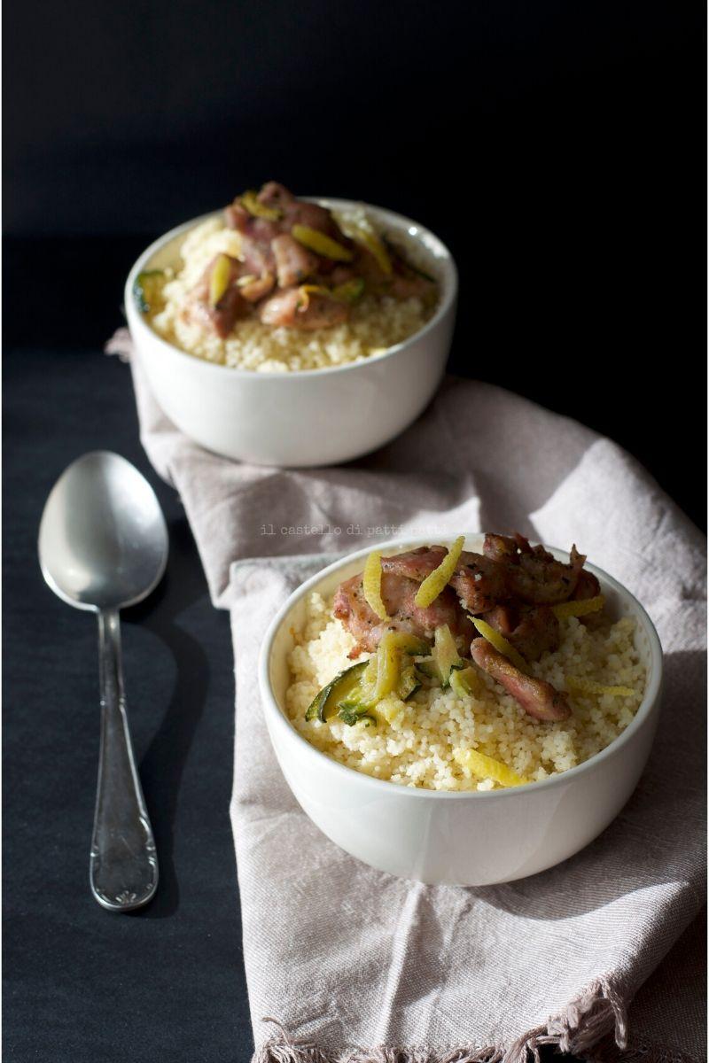 couscous pollo e zucchine 5